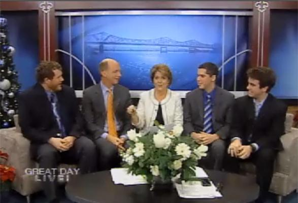 President Project organizers appear on WHAS-11's