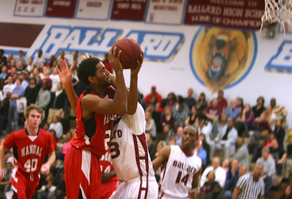 Gallery: Boys' basketball vs. Ballard