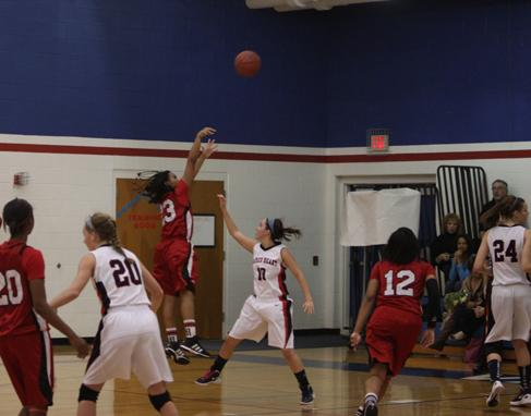 Girls Basketball vs Sacred Heart