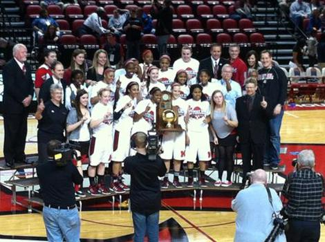 Manual Lady Crimsons win state championship