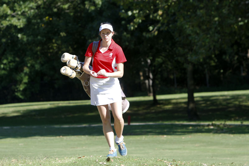 Gallery: Girls Golf team plays Shawnee
