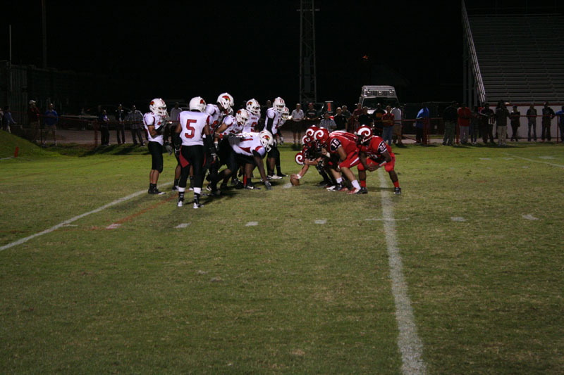 Manual infringes on the endzone. Photo by Alexis Weaver