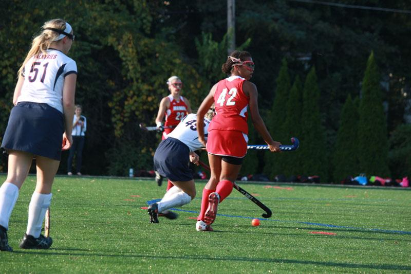 Morgan Hines (11) is distracted for a moment when trying to take back the ball from the Valkyries.