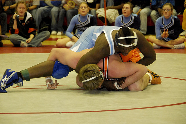 Manual's wrestling team prepares for first competition