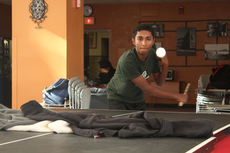 Gallery: Ping Pong club meets, but lacks equipment