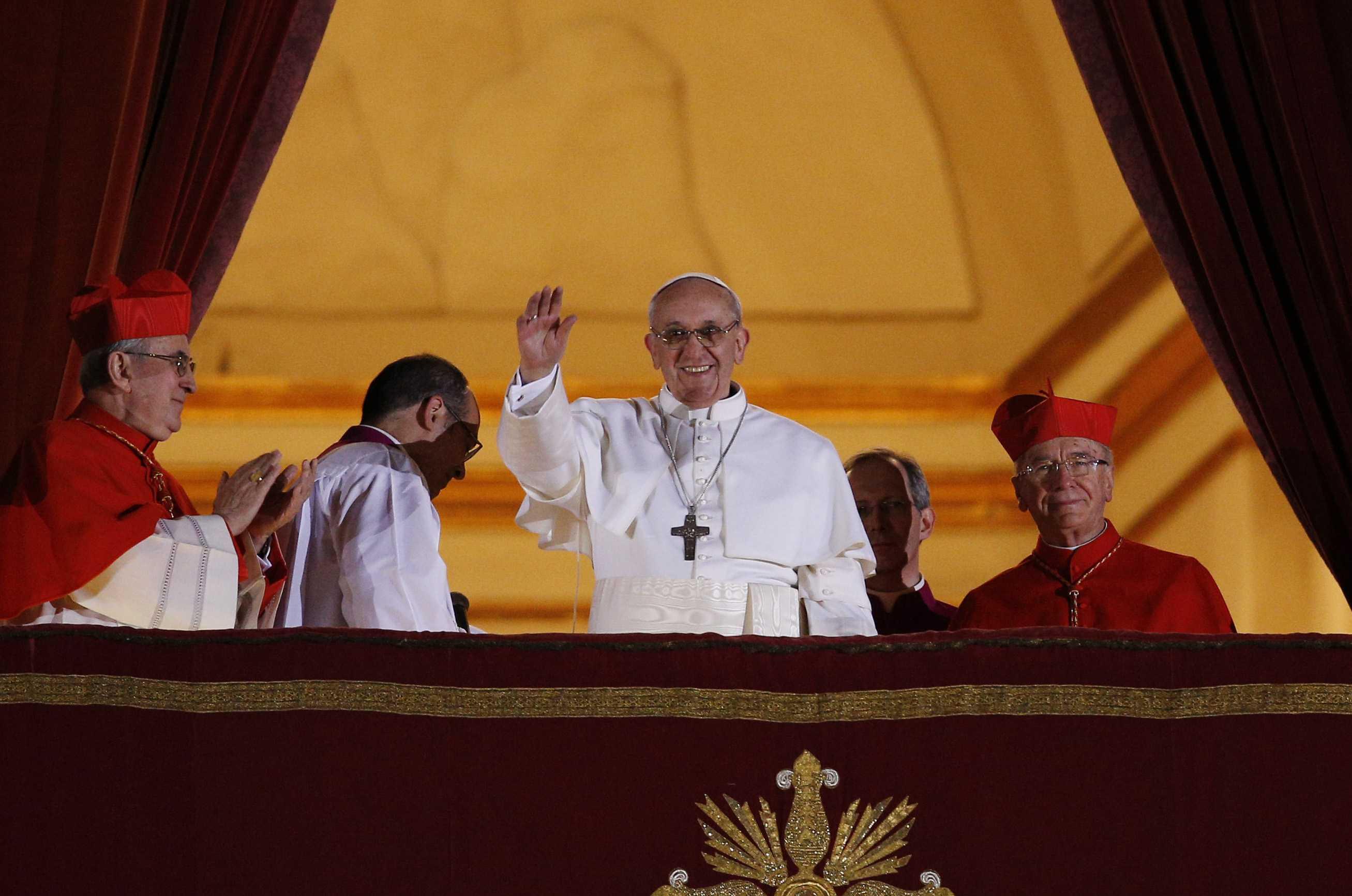 Cardinal Jorge Mario Bergoglio to be Pope Francis