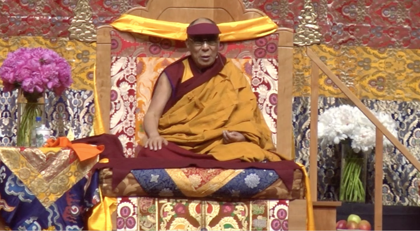 The Dalai Lama shares wisdom with Louisville