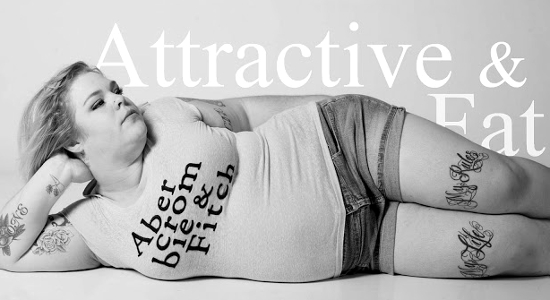 Courtesy of Liora K Photography  Woman redefines A&F and removes separation between attractive and fat.