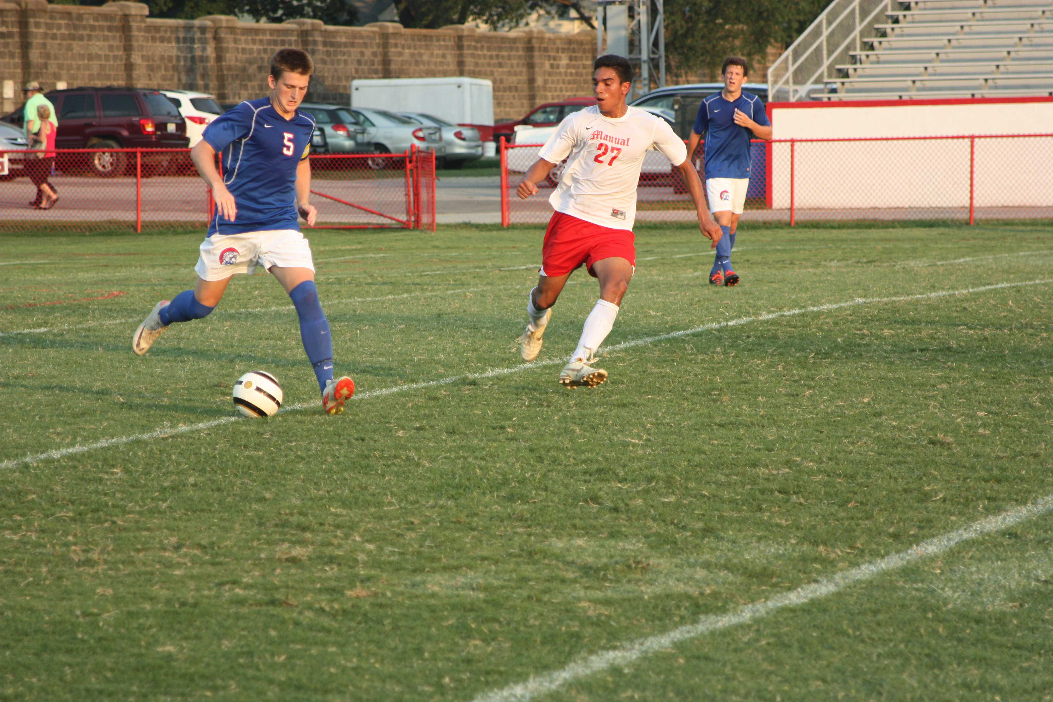 GALLERY: Manual boys soccer falls to CAL