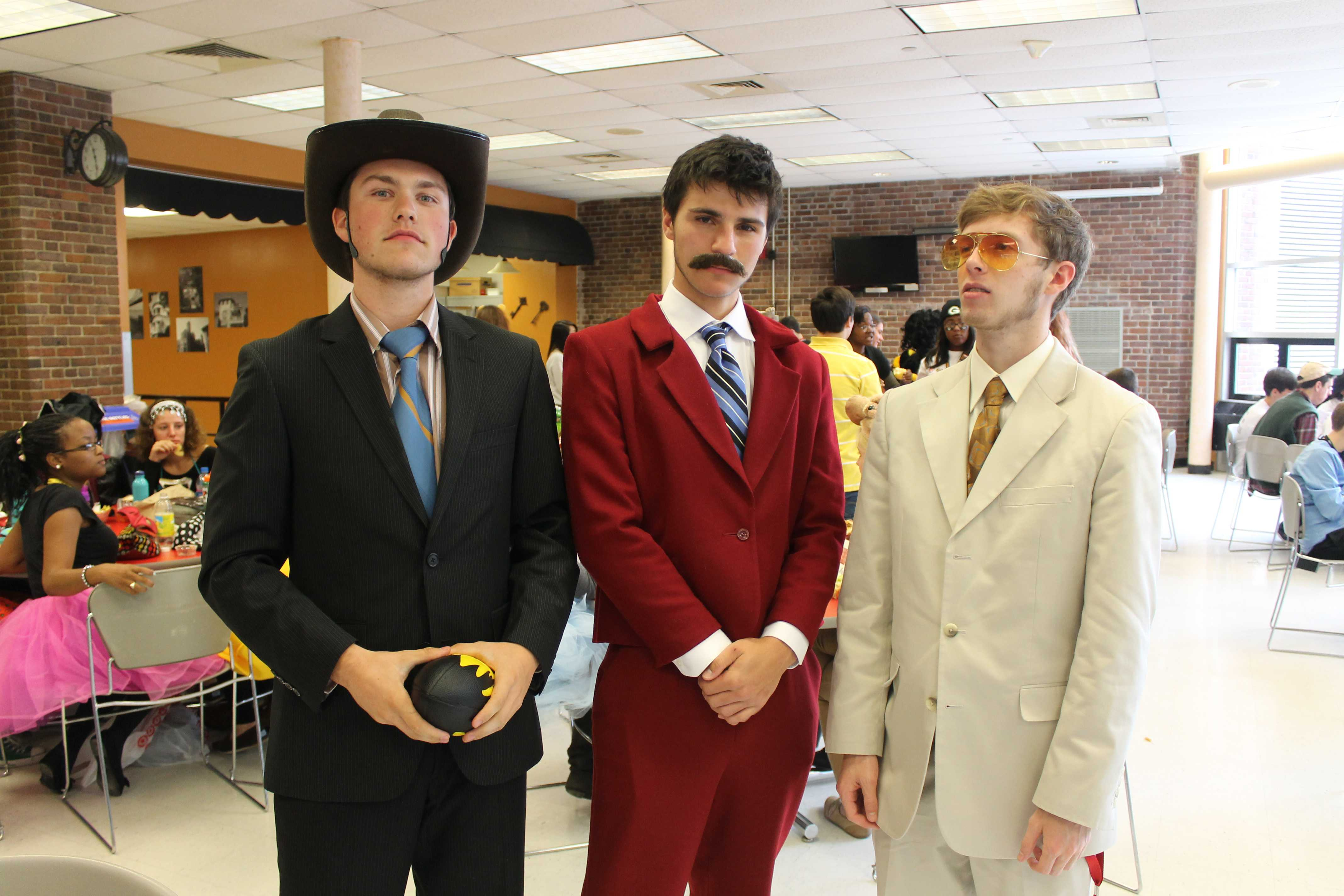 Manual suits up for Costume Day
