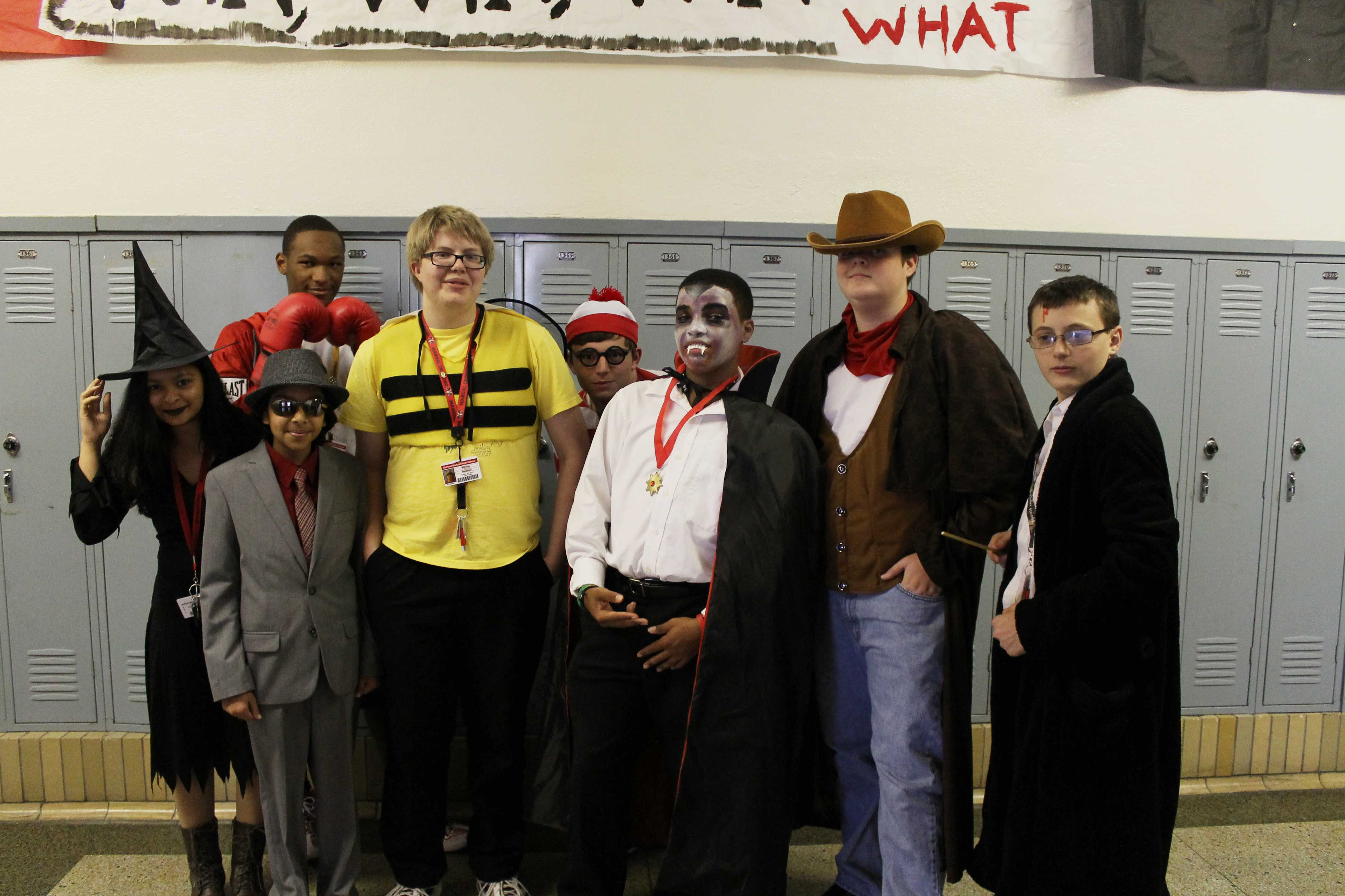 GALLERY: Red/White Week Day 3: Students dress up for Costume Day