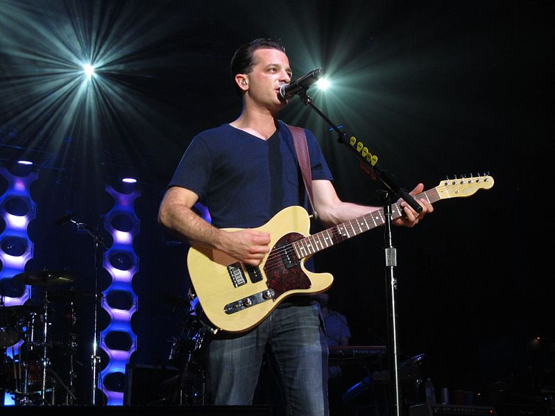 Lead singer of O.A.R., Marc Roberge, performing in Saratoga in 2011. Photo provided by http://www.commons.wikimedia.org (Matthew Straubmuller)