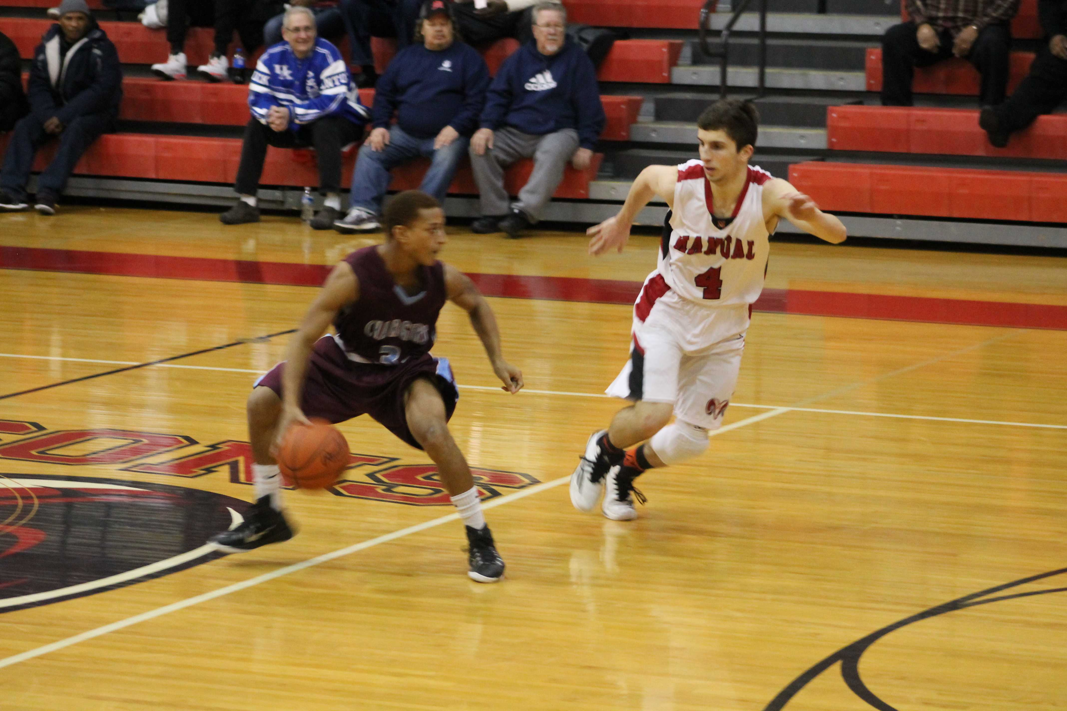 Boys basketball routs Jeffersontown