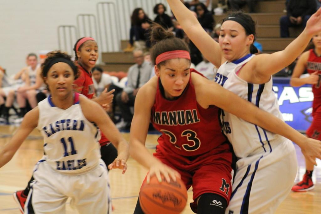 Lady Crimsons ice out Eastern to increase win streak