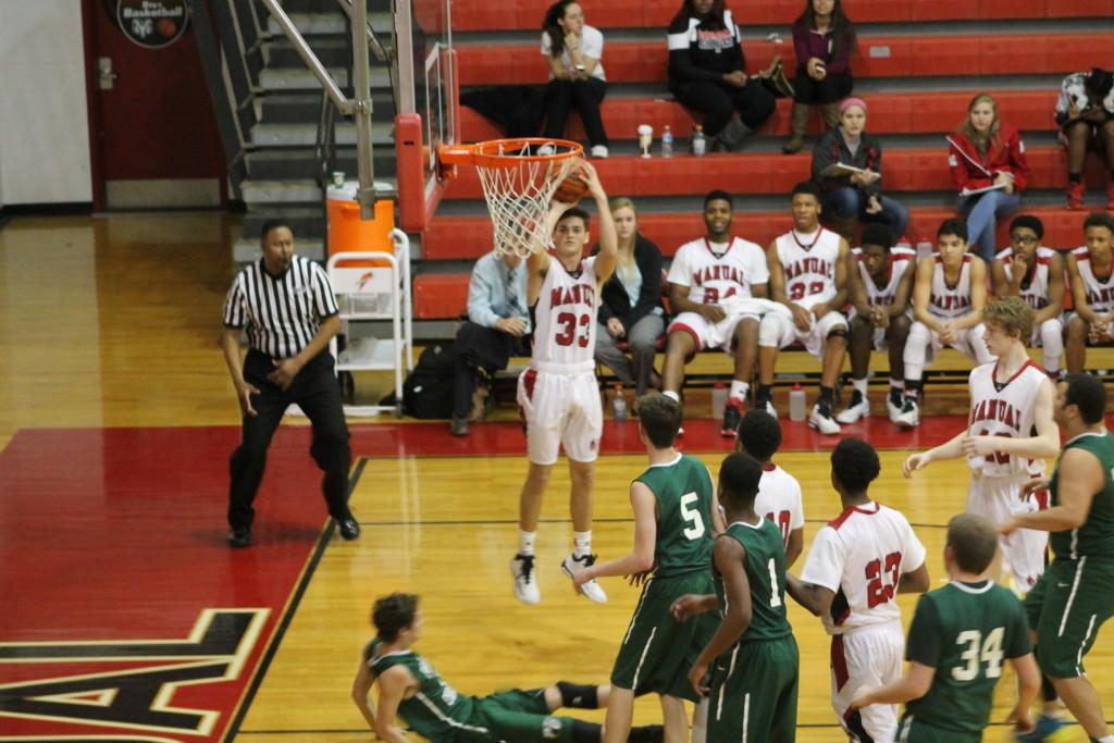 Boys' basketball crushes Portland Christian