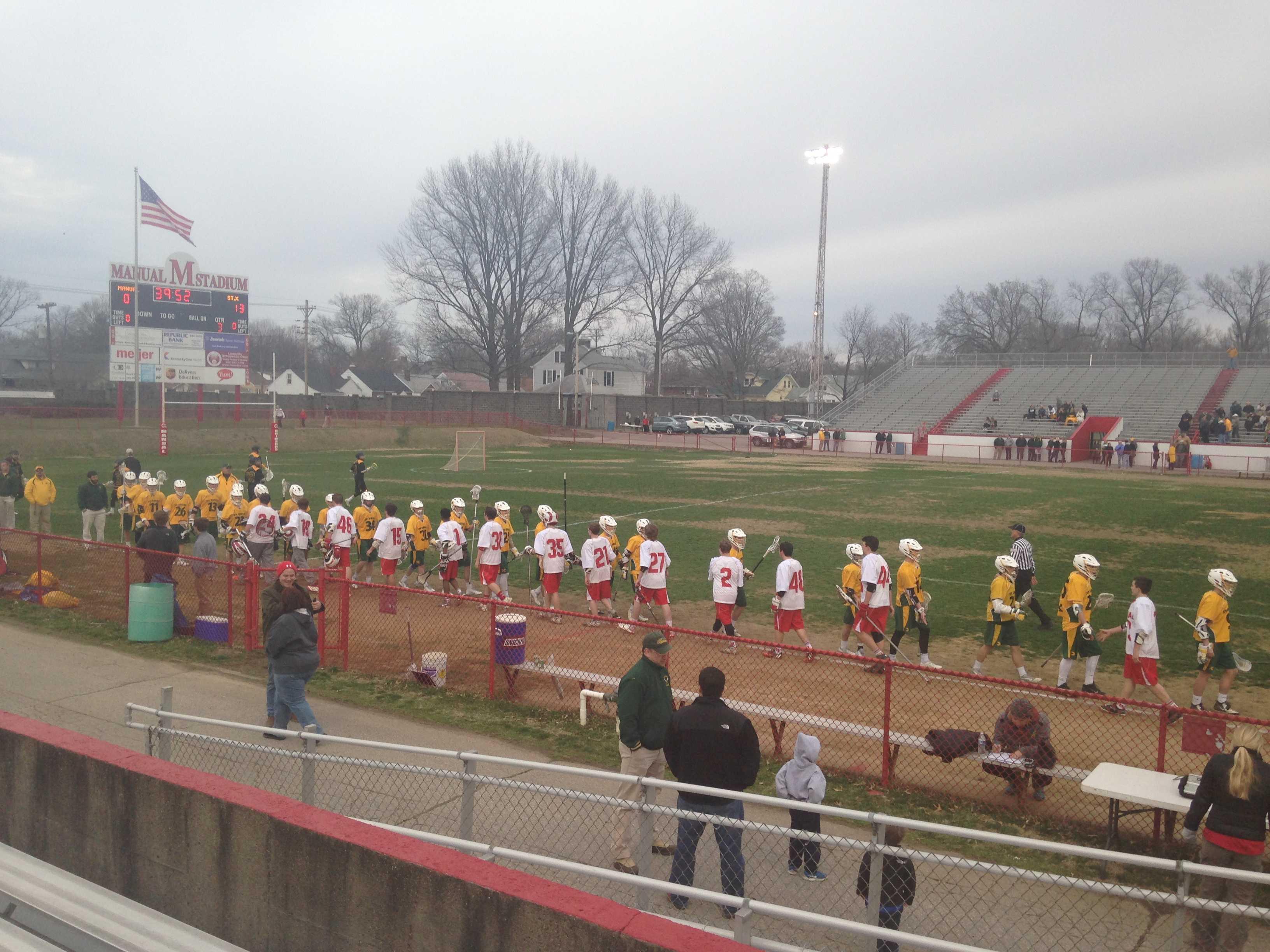 St. X thumps boys' lacrosse in season opener