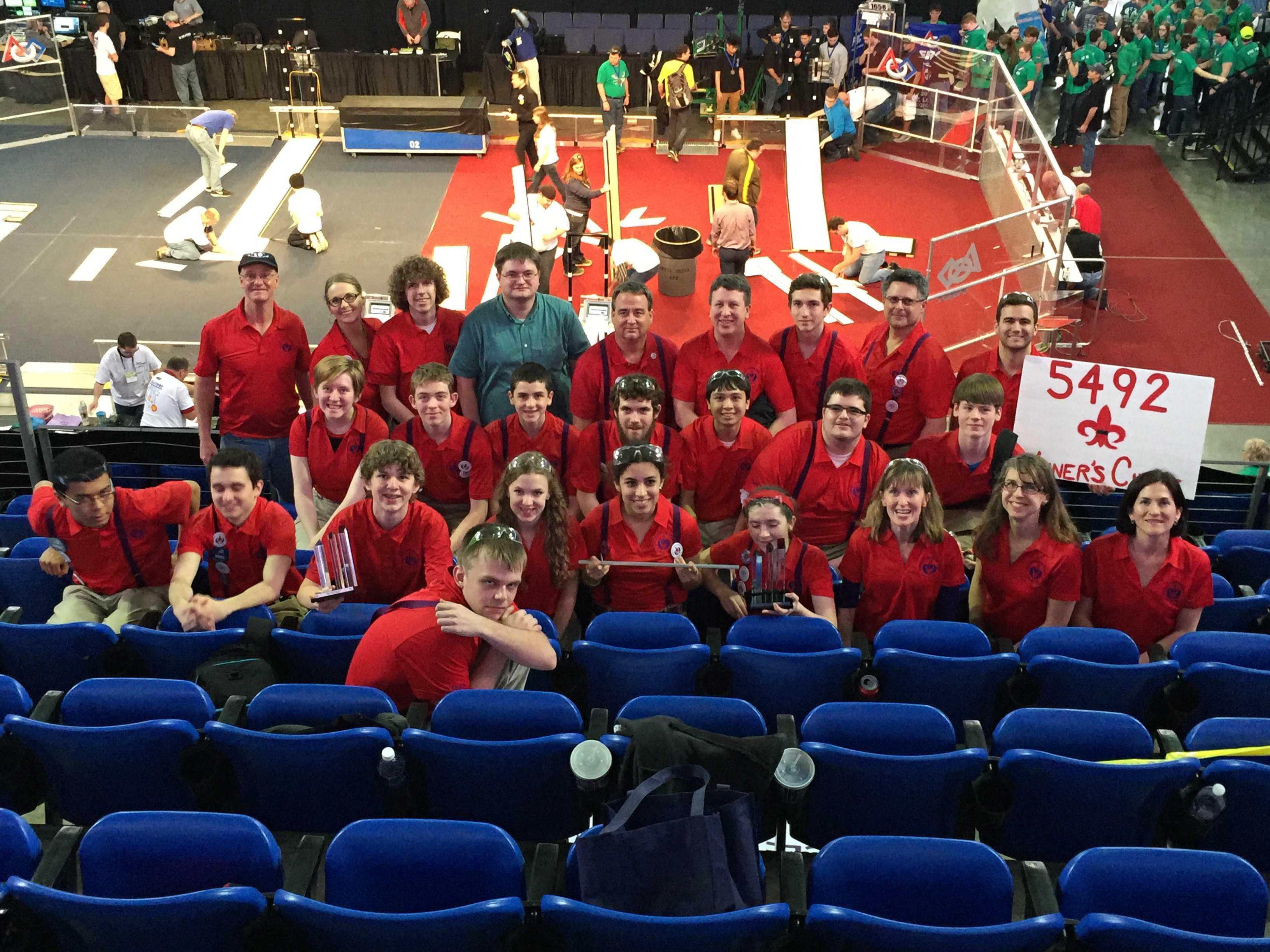 Robotics team shines at first tournament