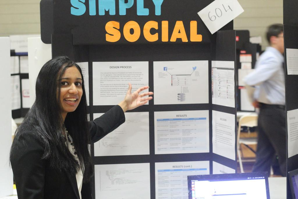 Students compete at Manual Regional Science Fair