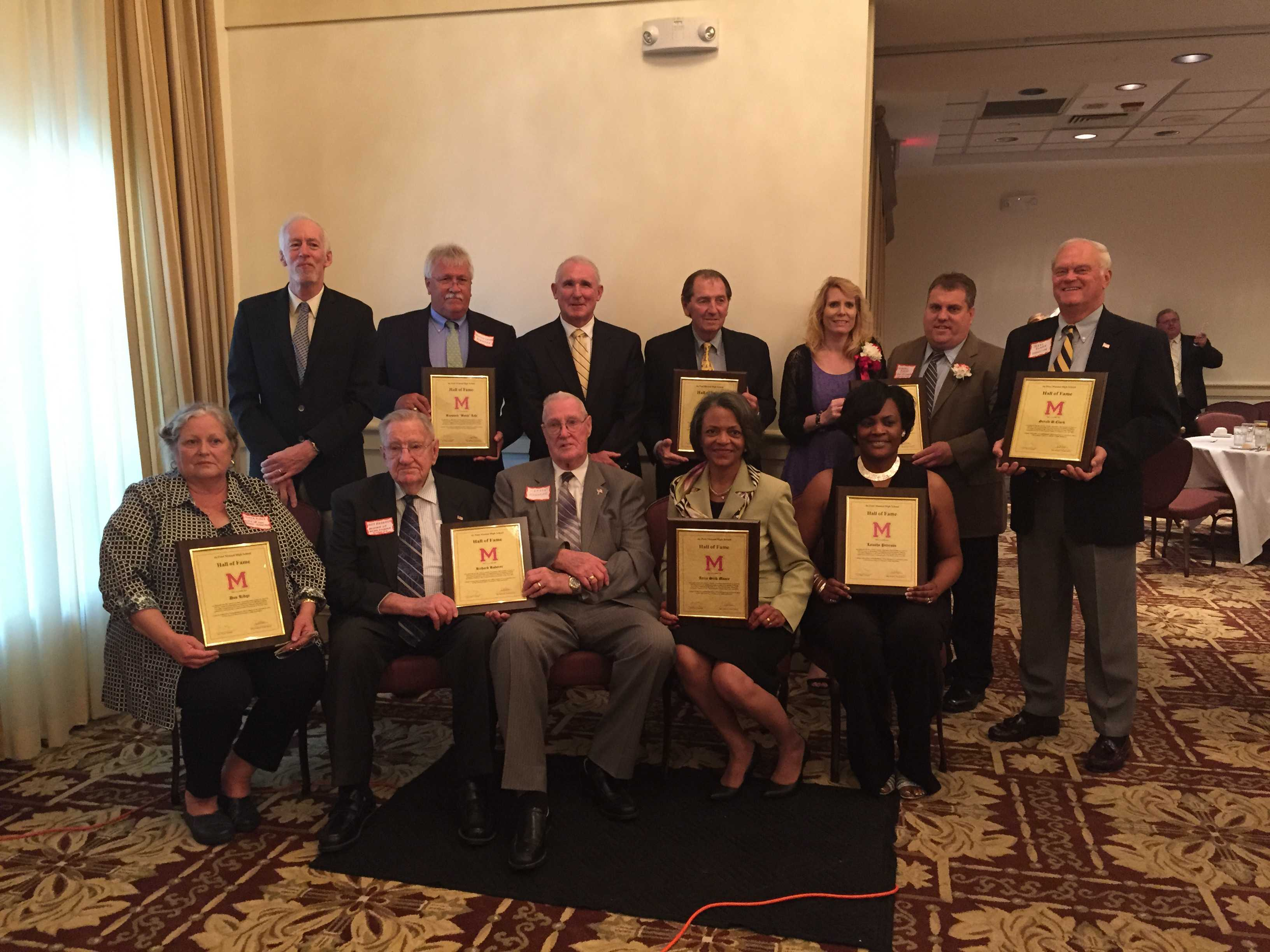Manual Alumni Association inducts ten new members to the Hall of Fame