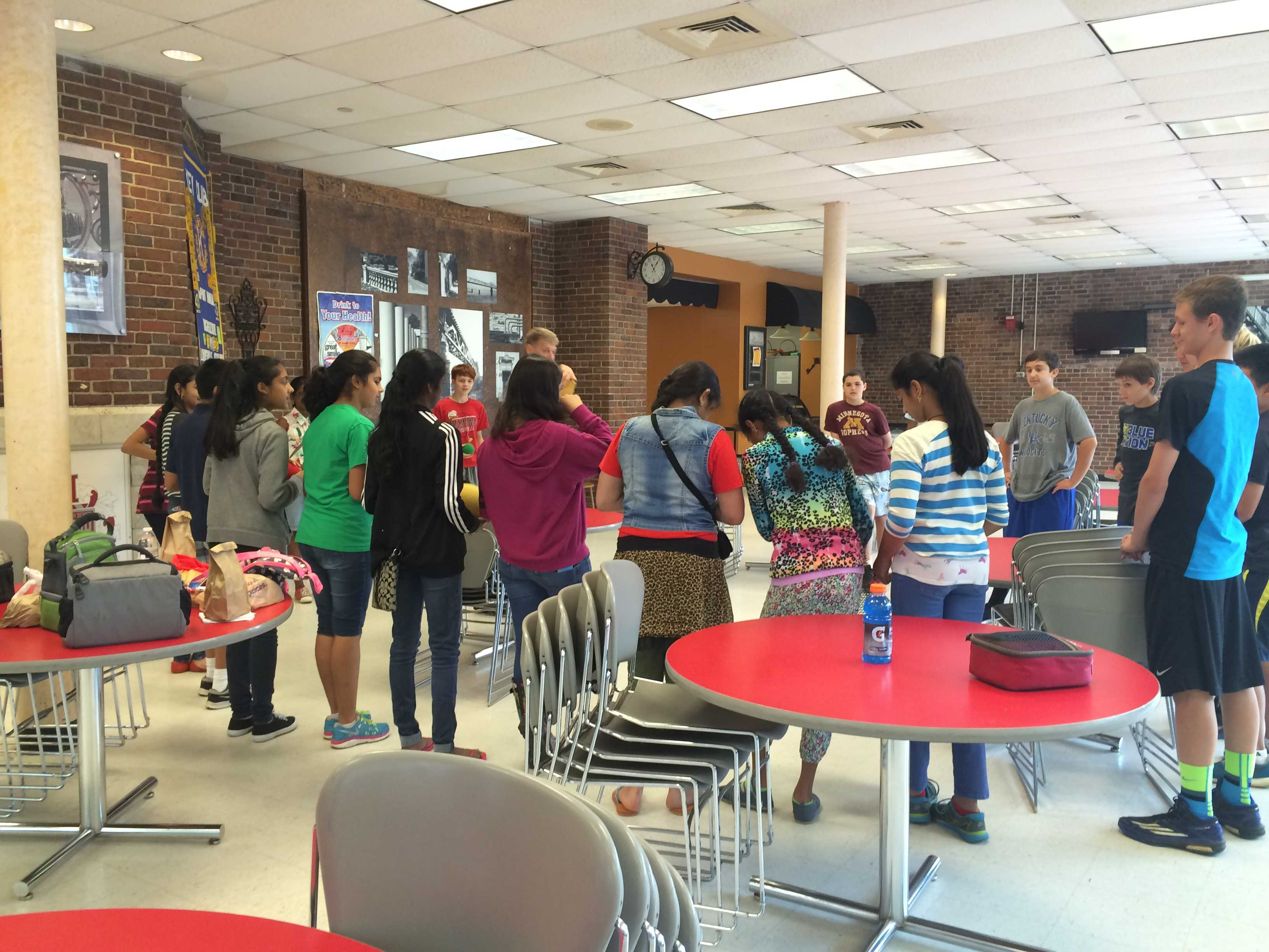 Science Olympiad team hosts camp for middle schoolers