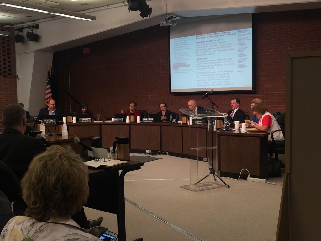 JCPS board votes to amend anti-harassment policy