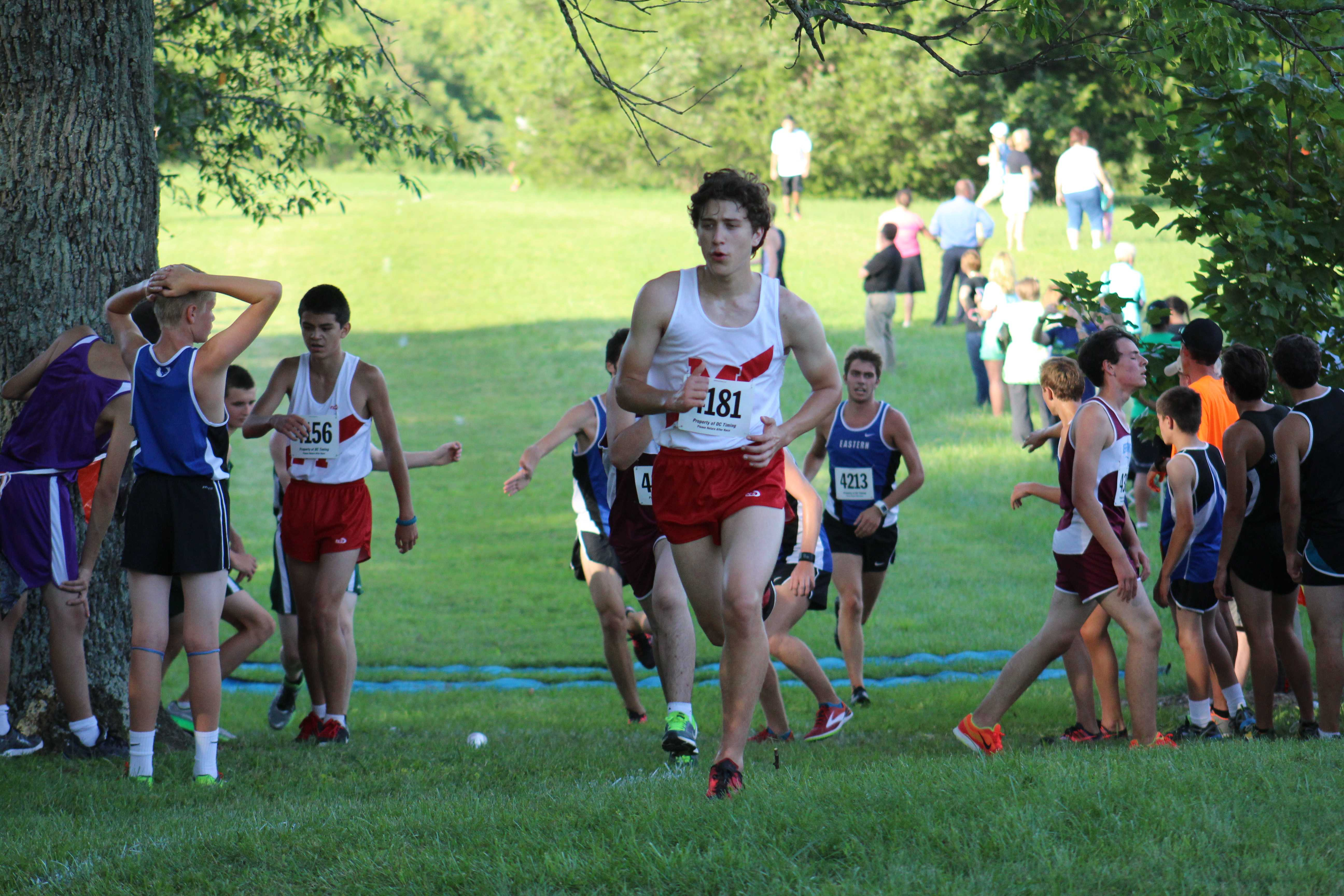 Cross country walks away from Fern Creek Relays with records