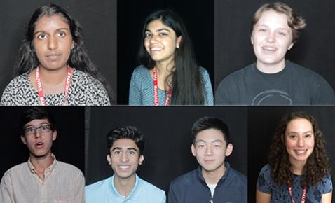 I know what you did last summer: Students share stories from the break
