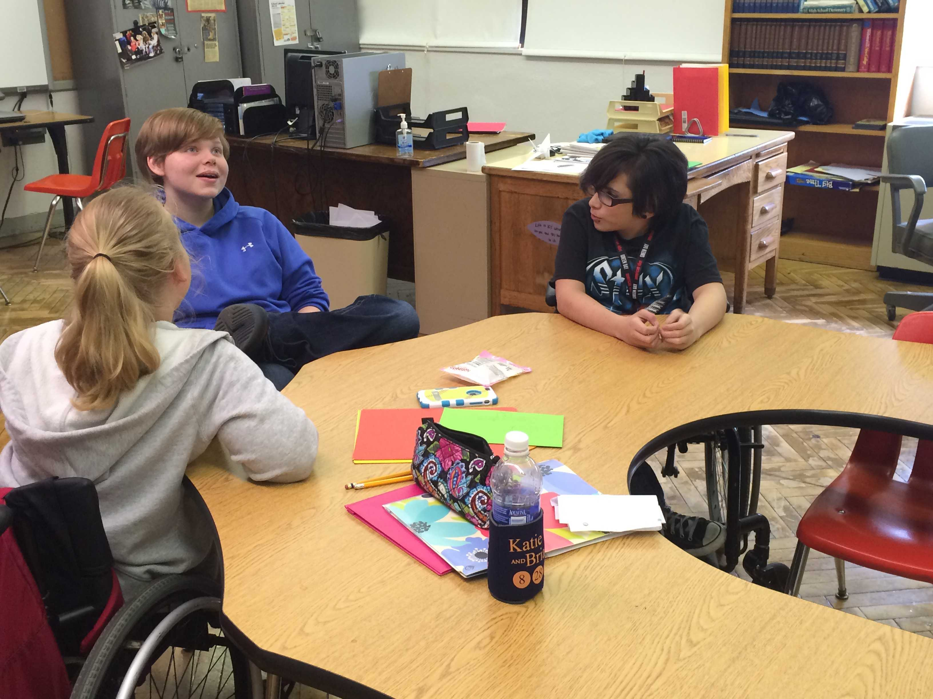Manual students speak on the Americans with Disabilities Act