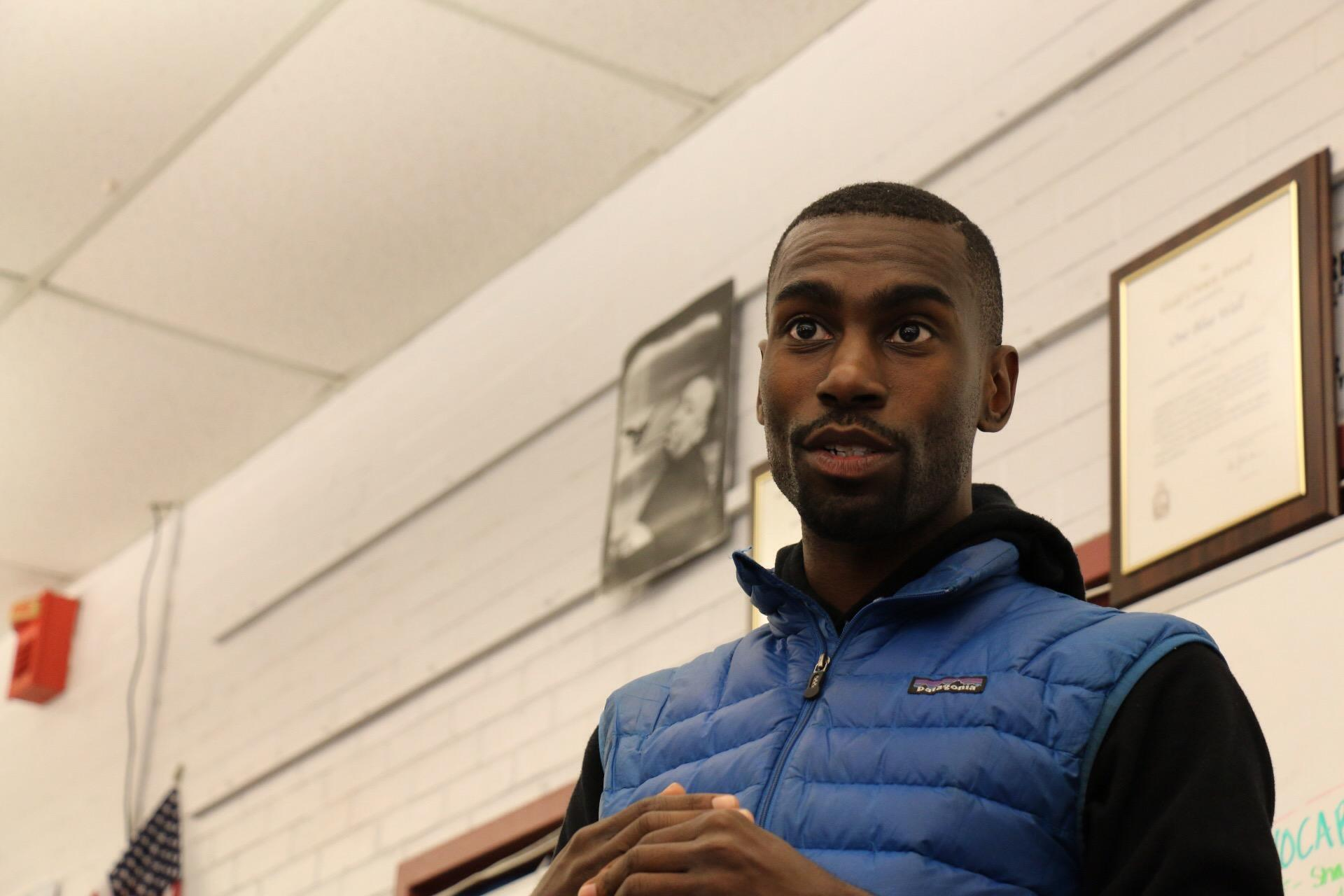 Deray McKesson holds Q&A with J&C students