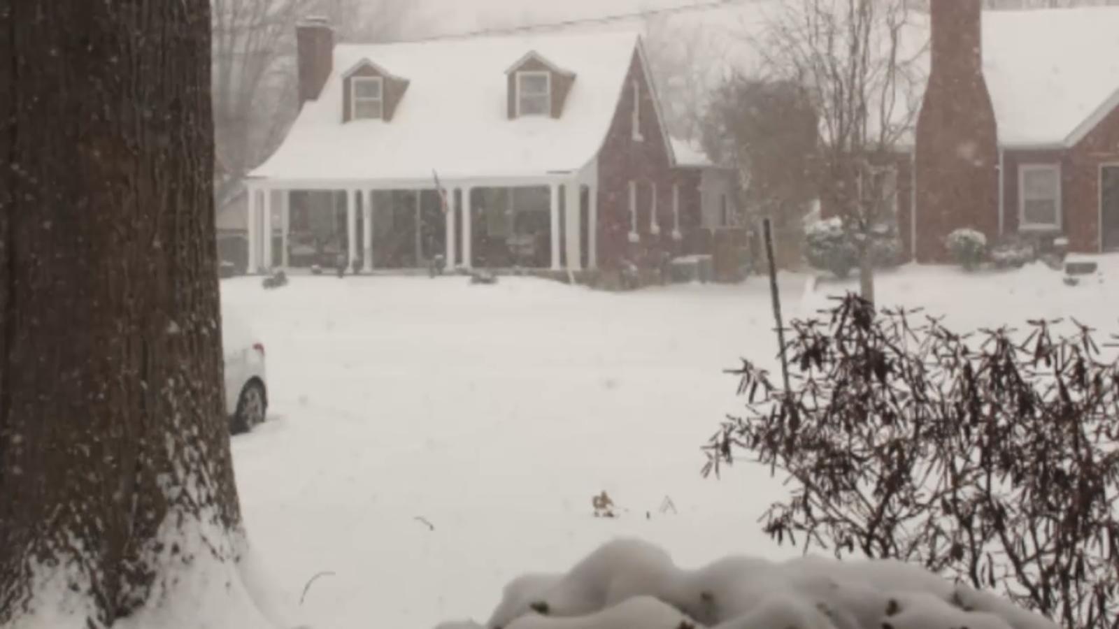 Meteorologist predicts snow this weekend