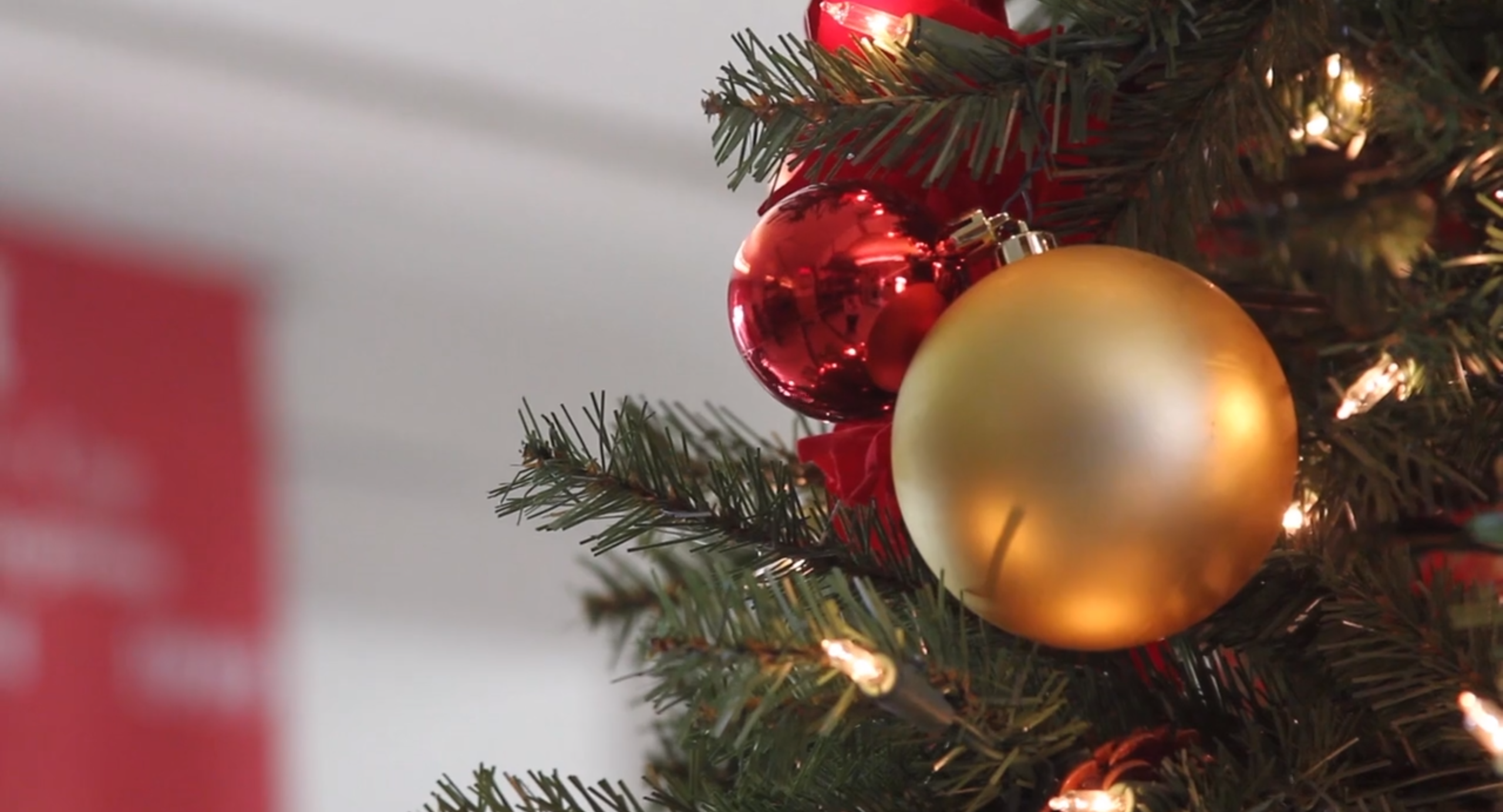 DAY 3: Manual decks its halls with annual holiday decorations