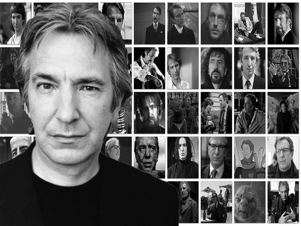 Alan Rickman had many faces on the silver screen but each left an impact. Designed by Nikhil Warrier
