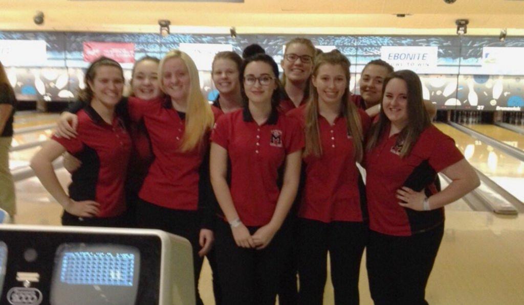 Girls' bowling teams finishes season at state championships