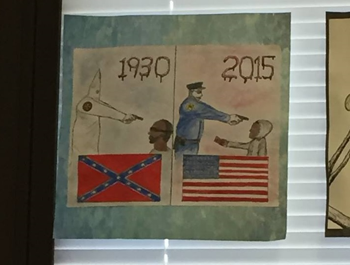 North Oldham High School students sound off on controversial artwork display