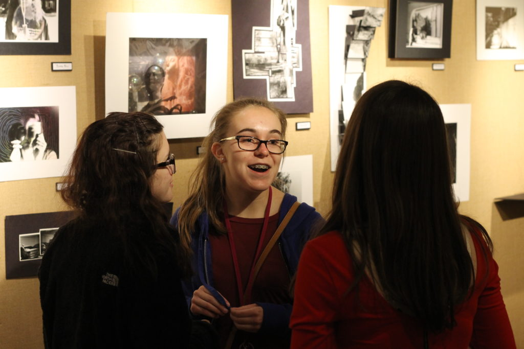 The+Photography+II+class%27s+%22Definitely+Touch+the+Art%22+show+opened+on+Thursday%2C+May+5+and+primarily+featured+interactive+and+three-dimensional+pieces.