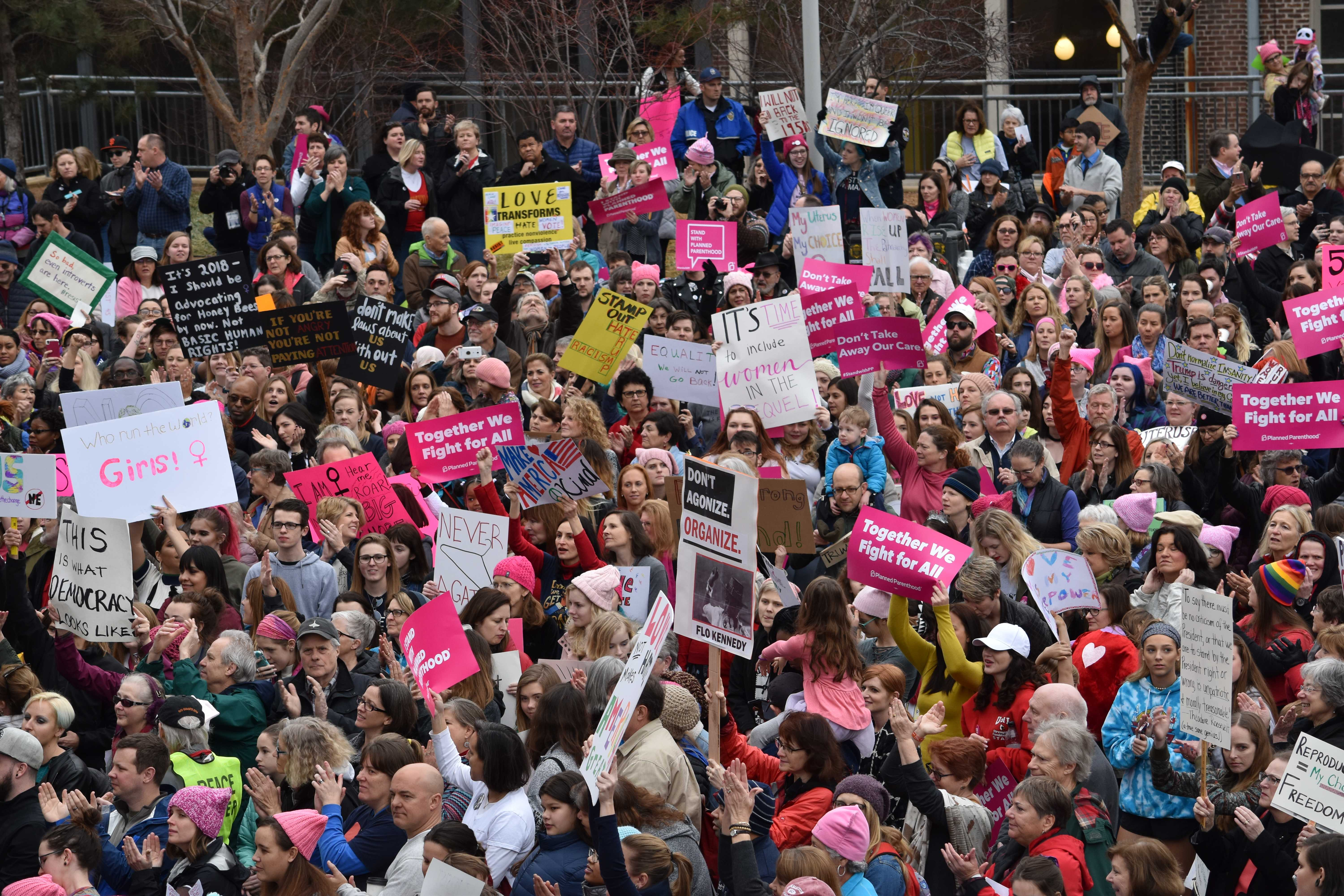 Women's March anniversary yields intersectionality rally