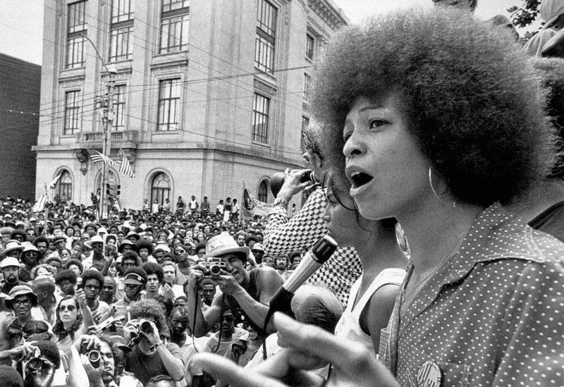 Angela Davis spoke to the ACLU in North Carolina about her connections to radical social reform during the