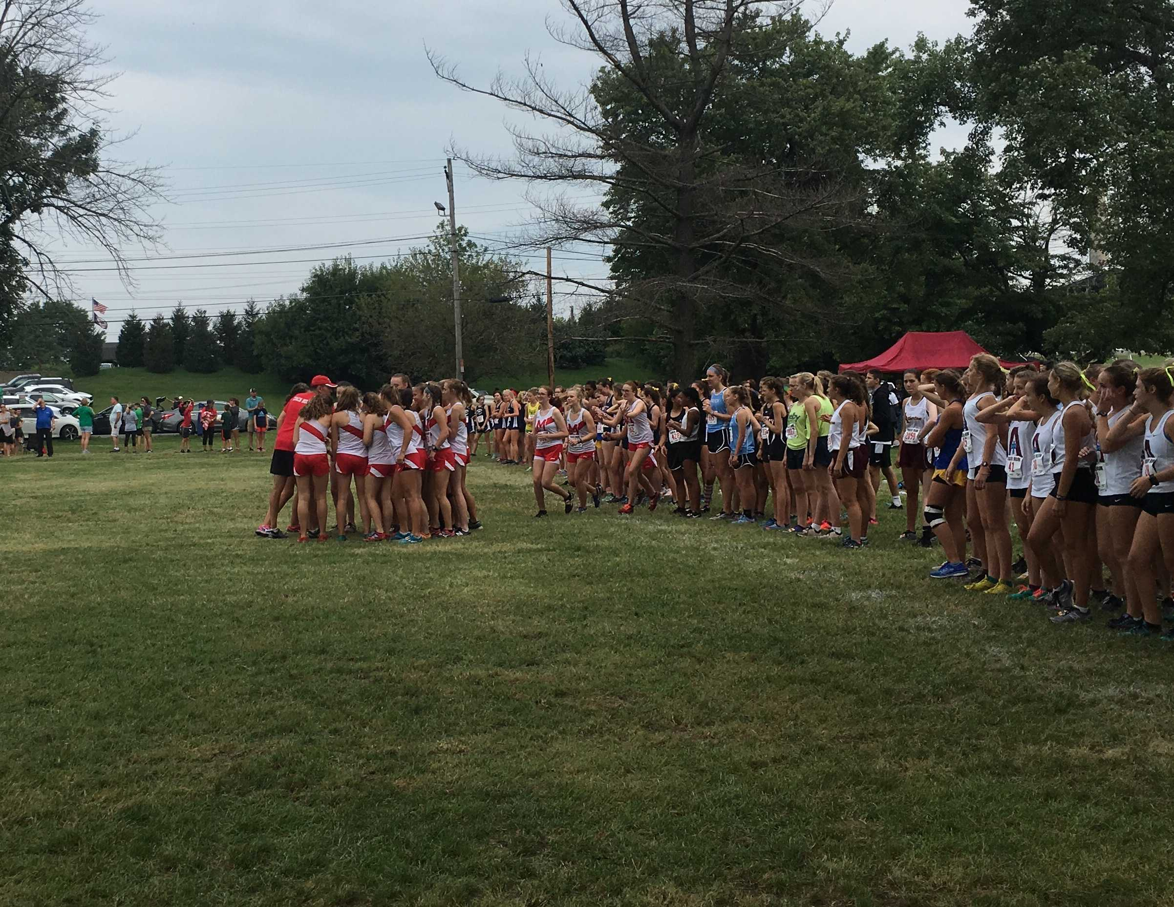 Manual is in the running at the St. Xavier Tiger Run