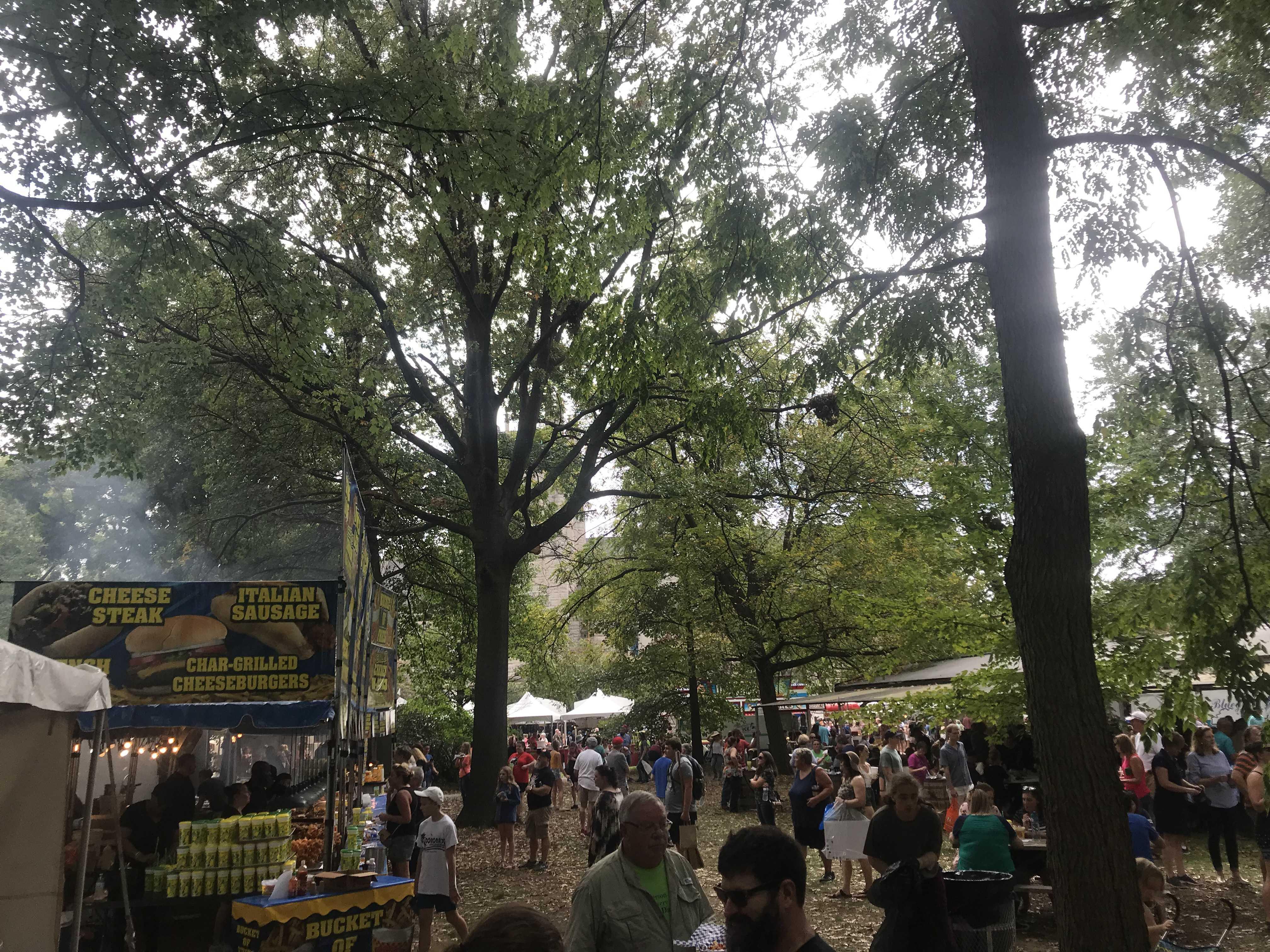 The annual St. James Art fair happened over fall break. Photo courtesy of Zayne Isom (11, VA)