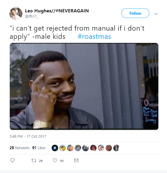 A roast from the annual Roastmas