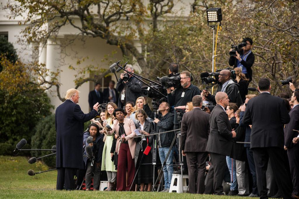 President Donald J. Trump Departs the South Lawn by Shealah Craighead, The White House on Flickr is licensed under Public Domain. No changes were made to the original image. Use of the image does not indicate photographer endorsement of the article.