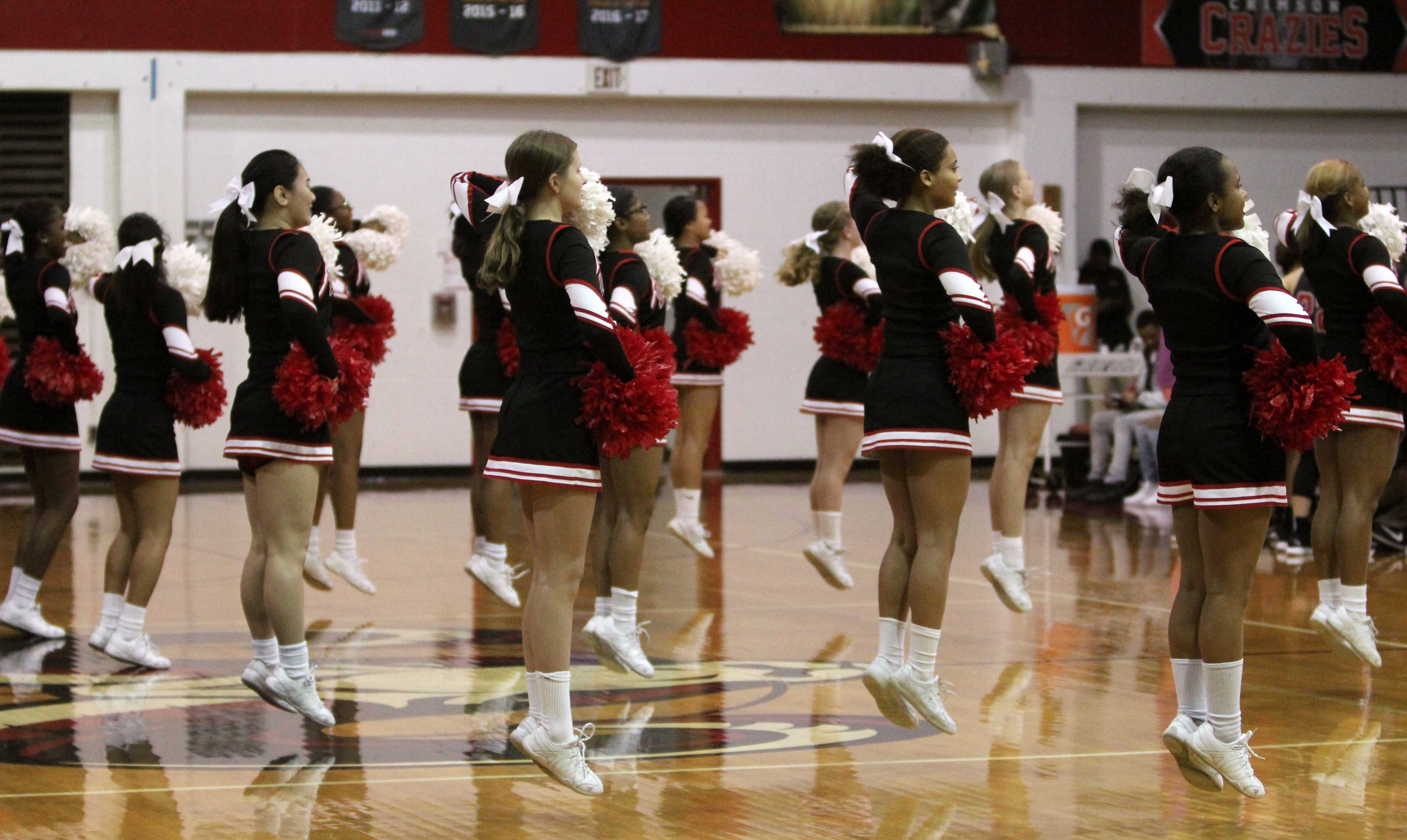 Manual cheer on the road to nationals