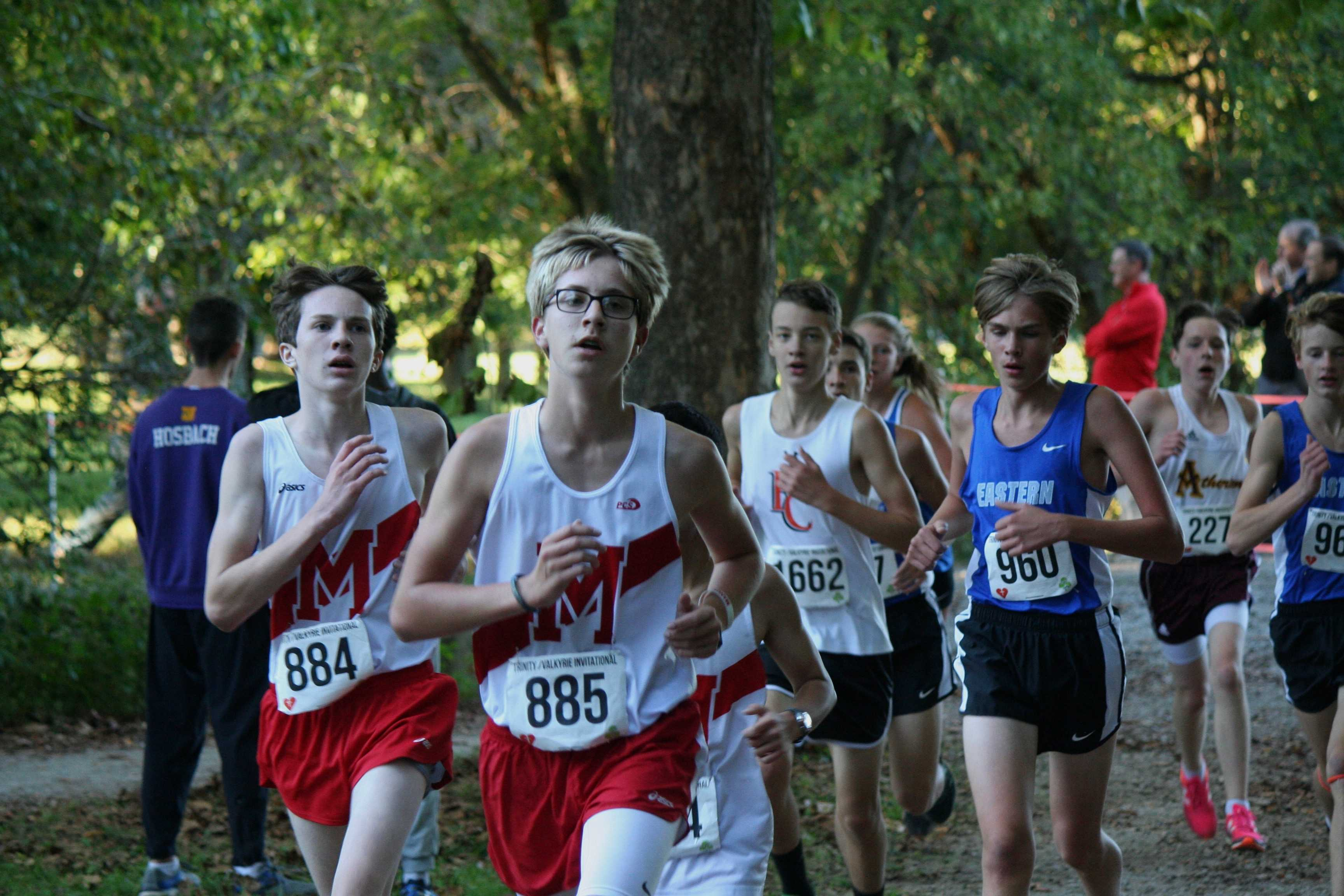 Cross Country: Staying on top