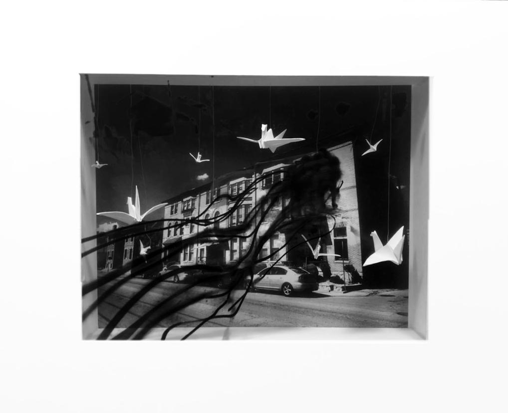 Photography II creates shadow box gallery