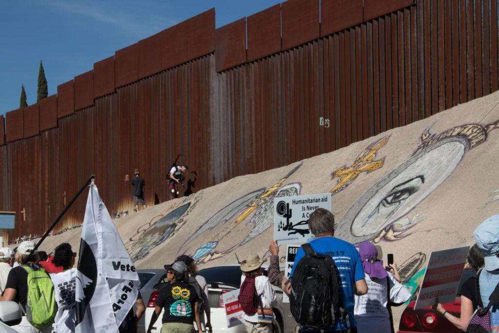 Manual students on the fence about Trump's border-focused week