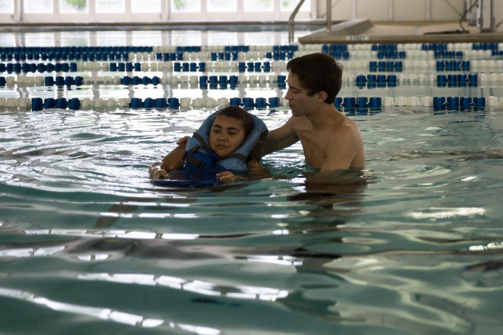 BHM: Adults Learn to Swim in cold waters with warm hearts