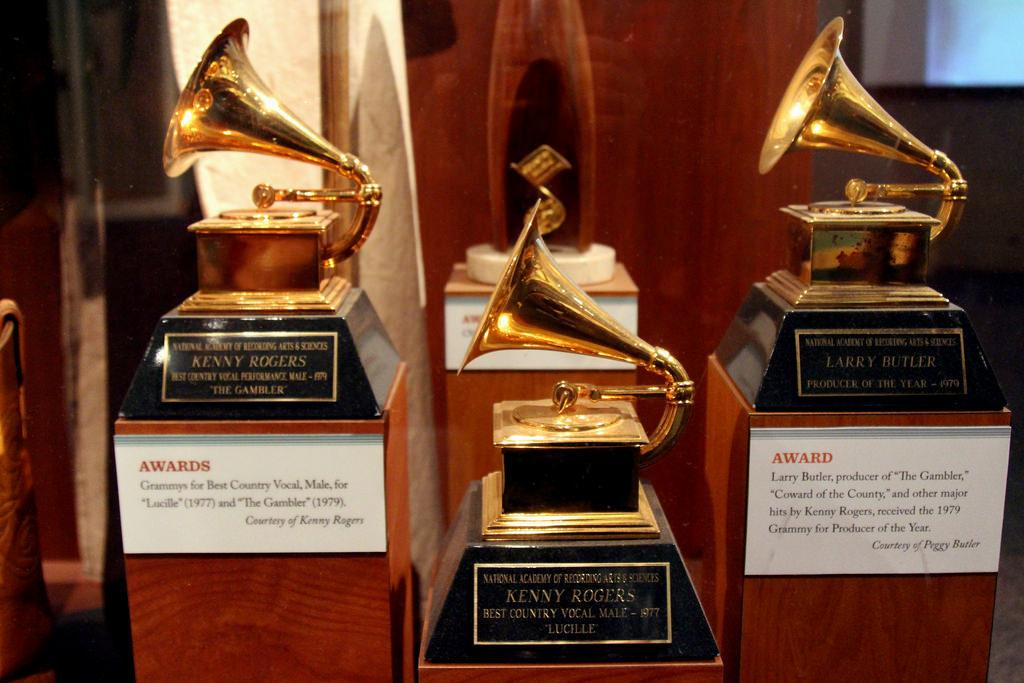 Grammy Statuettes by Prayitno on Flickr is licensed under Creative Commons Attribution 2.0 Generic. No changes were made to the image. Use of this photo does not indicate photographer endorsement of this article.
