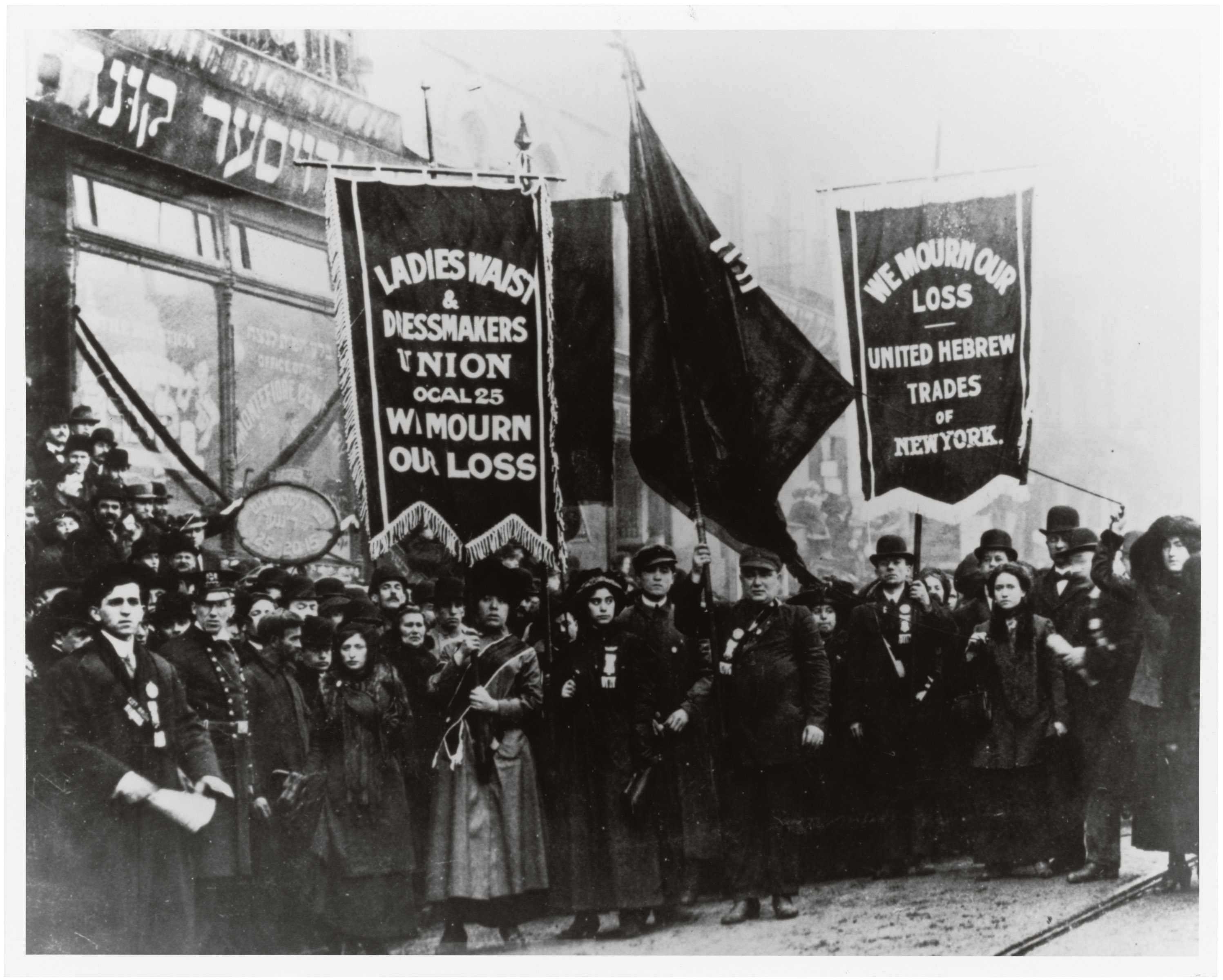 Triangle Shirtwaist Factory fire forged labor unions, workers' rights and workplace safety