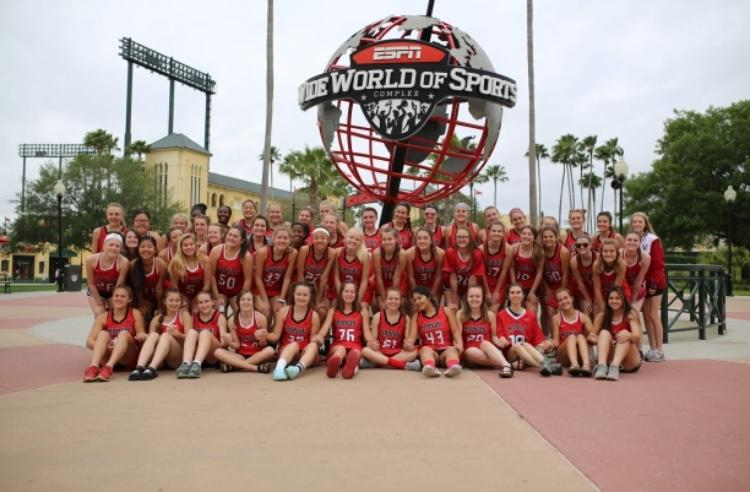 Girls' lacrosse faces off in Florida during spring break