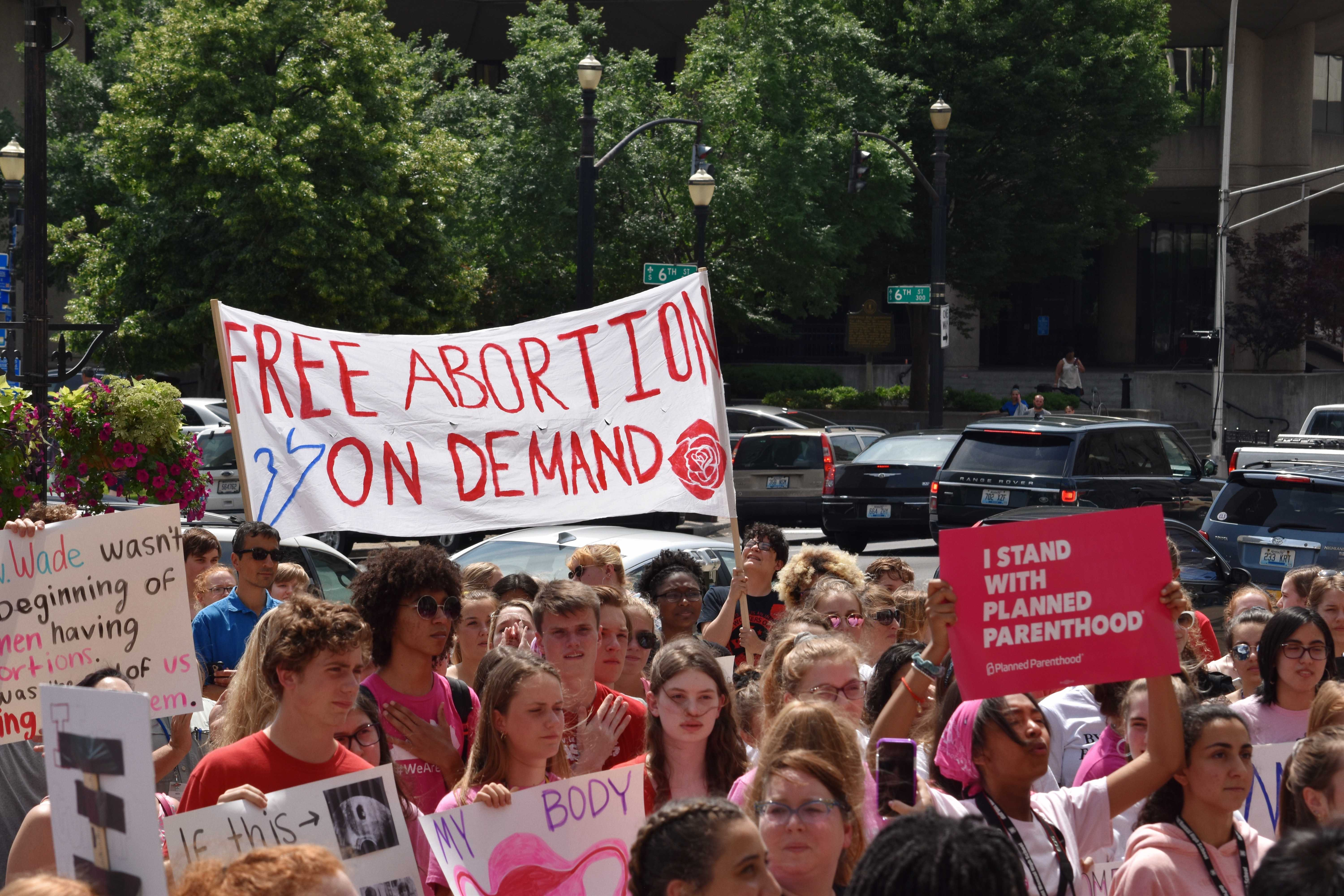 Women's rights rally illuminates a need for intersectionality in reproductive healthcare